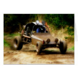 Getting Air in a Dune Buggy Greeting Card