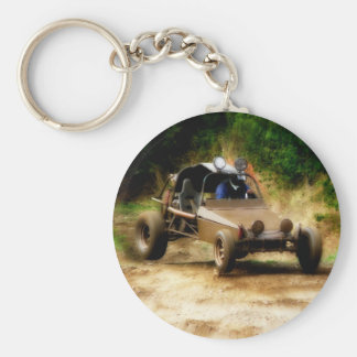 Getting Air in a Dune Buggy Keychain