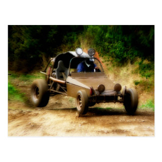 Getting Air in a Dune Buggy Postcard