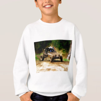 Getting Air in a Dune Buggy Sweatshirt