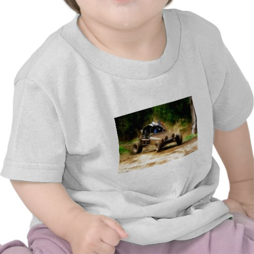 Getting Air in a Dune Buggy Tee Shirt