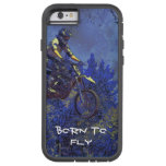 """Getting Air"" Motocross Dirt-Bike Champion Racer Tough Xtreme iPhone 6 Case"
