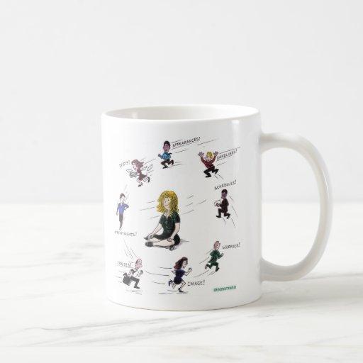Getting anywhere running around? mug