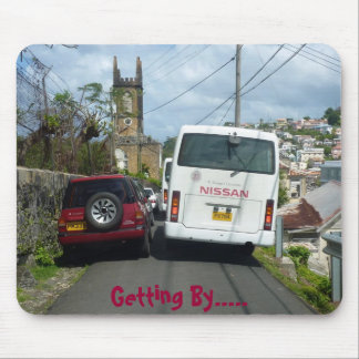 Getting By in Grenada Mouse Pad