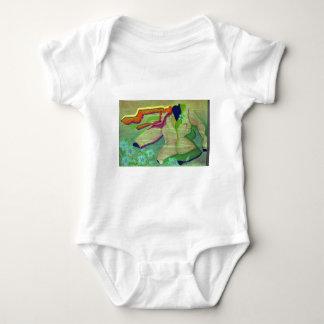 Getting Dressed Baby Bodysuit