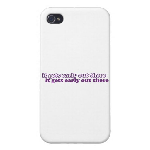 getting early iPhone 4 case