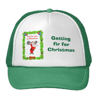 Getting fit for Christmas Trucker Hat