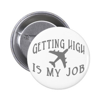 Getting High Airline Pilot Pin