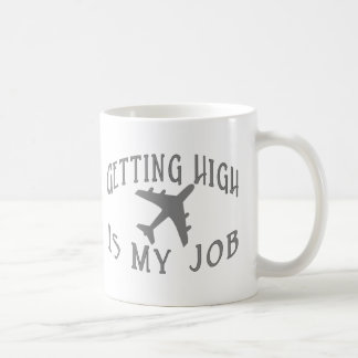 Getting High Airline Pilot Coffee Mug