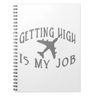 Getting High Airline Pilot Notebook