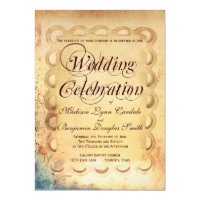 Getting Hitched Rustic Wedding Celebration Invites