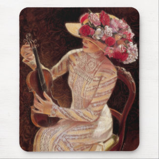 """""""Getting in Tune"""" by Sue Halstenberg Mouse Pad"""