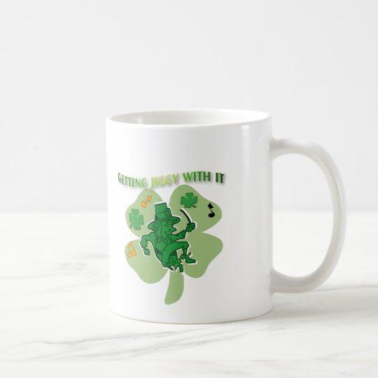Getting jiggy with it coffee mug