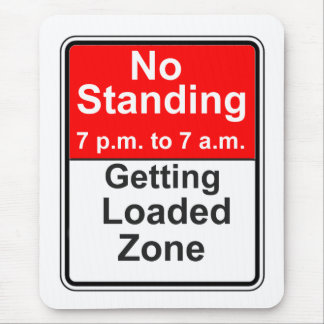 Getting Loaded Zone Mouse Pad