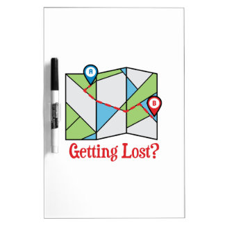 Getting Lost? Dry-Erase Boards