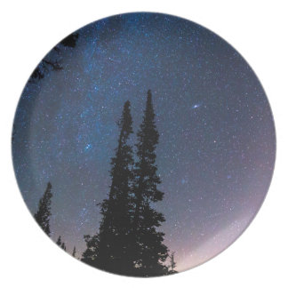 Getting Lost In A Night Sky Dinner Plate