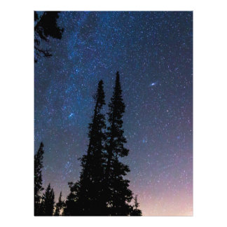 Getting Lost In A Night Sky Letterhead
