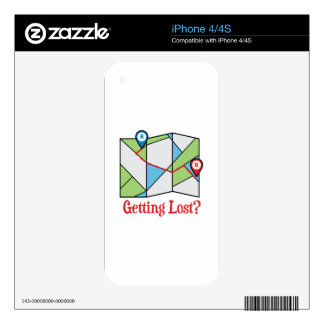 Getting Lost? iPhone 4S Skin