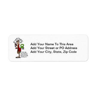 Getting Lucky Humor Return Address Label