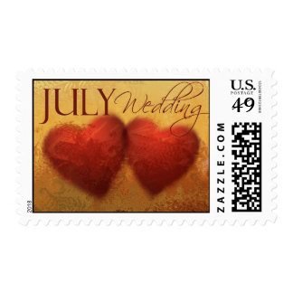 Getting married in July? Wedding Postage