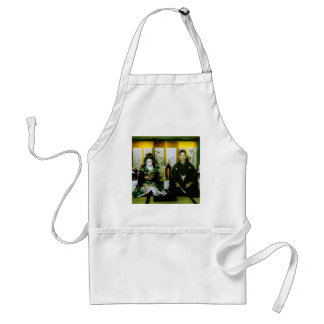 Getting Married in Old Japan The Happy Couple Adult Apron