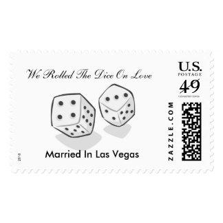 Getting Married Las Vegas Postage
