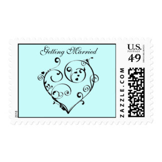 Getting Married Stamps
