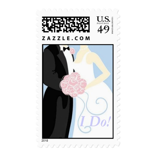Getting Married Postage Stamp