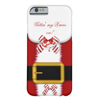 ¡Getting mi Navidad encendido! Navidad Funda De iPhone 6 Barely There