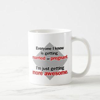 Getting more awesome coffee mug