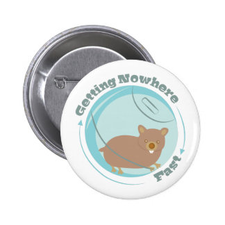 Getting Nowhere 2 Inch Round Button