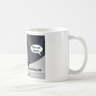 Getting old coffee mug