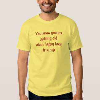 Getting Old Shirts