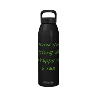 Getting Old Water Bottle