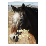 Getting Older and Wiser - Cowboy Parenting Greeting Cards