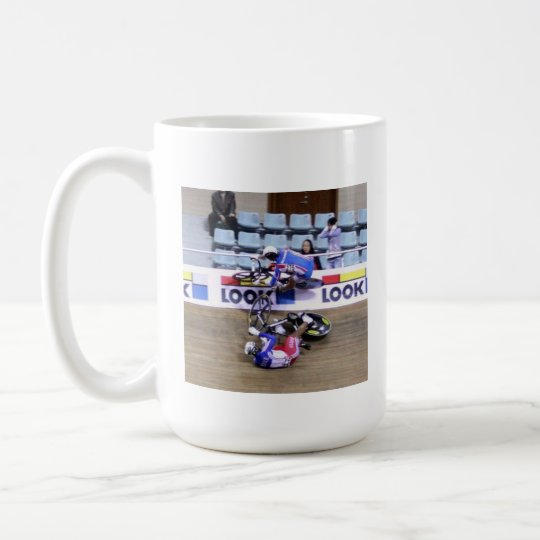 Getting out of the way mug