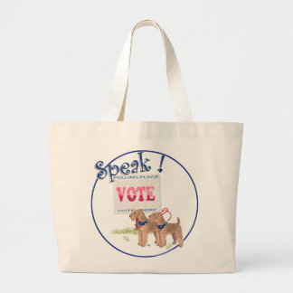 Getting out the VOTE Canvas Bags