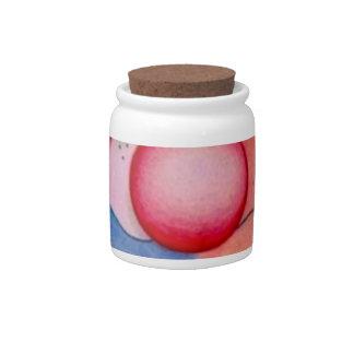 Getting Ready Candy Jar