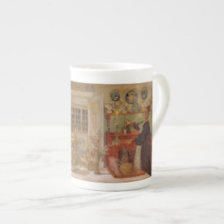 Getting Ready for a Little Game Bone China Mugs