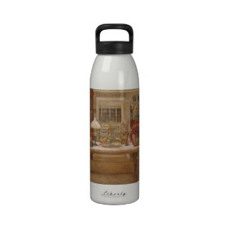 Getting Ready for a Little Game Reusable Water Bottle