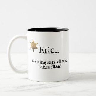 """Getting rugs all wet..."" Coffee Mug"