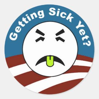 Getting Sick Yet? Sticker