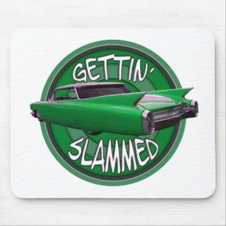 getting slammed 1960 Cadillac green mamba Mouse Pads