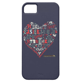Getting Stronger heart iPhone SE/5/5s Case