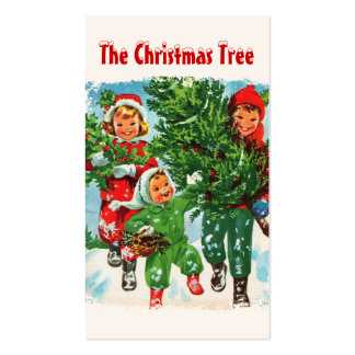 Getting The Christmas Tree Gift Tags Business Card