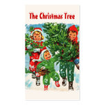 Getting The Christmas Tree Gift Tags Double-Sided Standard Business Cards (Pack Of 100)