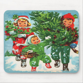 Getting The Christmas Tree Mousepad