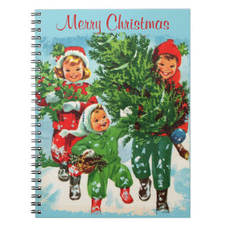 Getting The Christmas Tree Notebook