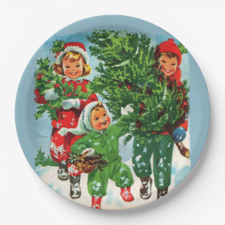 Getting The Christmas Tree Paper Plate