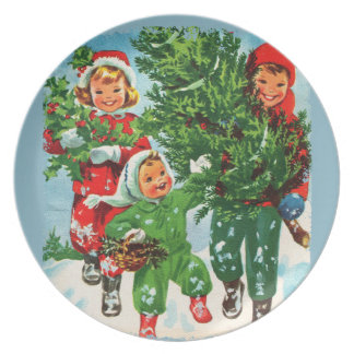 Getting The Christmas Tree Plate